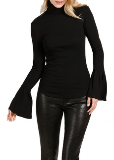Paige Denim PAIGE Kenzie Bell Sleeve Turtleneck