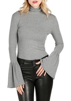Paige Denim PAIGE Kenzie Bell Sleeve Turtleneck