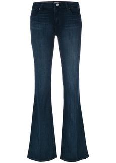 Paige Denim Paige long flared jeans - Blue