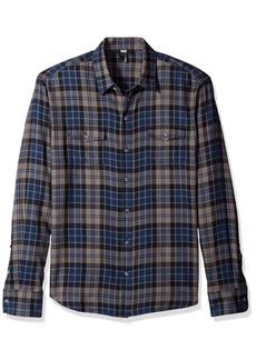 Paige Denim PAIGE Men's Everett Brushed Cotton Button Down Shirt  XL