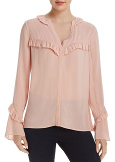 Paige Denim PAIGE Montel Ruffled Blouse