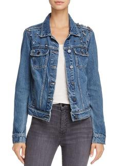Paige Denim PAIGE Naveen Embellished Denim Jacket