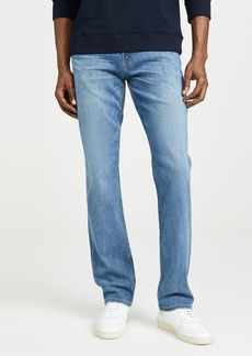 PAIGE Normandie Straight Jeans in Cartwright Wash