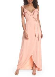 Paige Denim Paige Regina Ruffle Maxi Dress