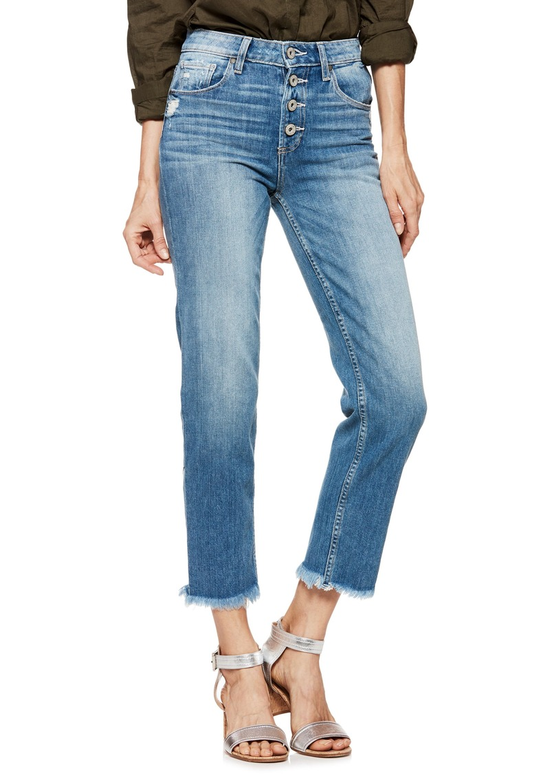 Paige Denim PAIGE Sarah High Waist Straight Leg Jeans (Venice)