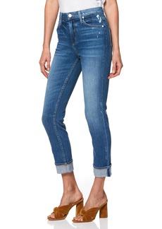 Paige Denim PAIGE Sarah High Waist Straight Slim Leg Jeans (Embarcadero)
