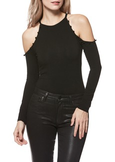 Paige Denim PAIGE Siana Cold-Shoulder Bodysuit