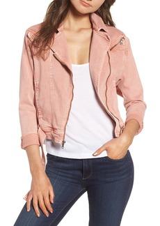 Paige Denim PAIGE Sivan Denim Moto Jacket (Desert Sunrise)