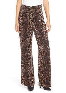 Paige Denim PAIGE Skyla Leopard Print Pants