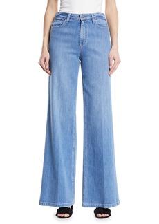 Paige Denim Sutton High-Rise Wide-Leg Jeans
