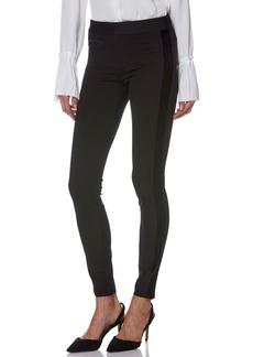PAIGE Tereza Velvet Side Stripe Slim Pants