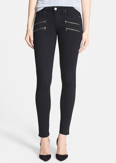 Paige Denim PAIGE Transcend - Edgemont Ultra Skinny Jeans (Black Shadow)