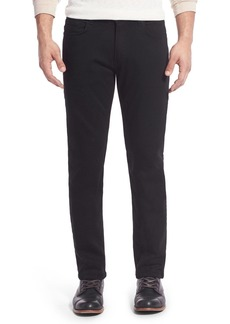 PAIGE Transcend - Normandie Straight Leg Jeans (Black Shadow)