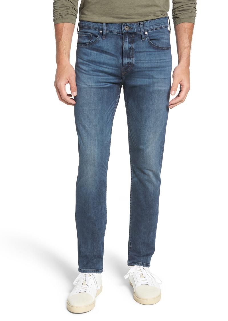PAIGE Transcend - Lennox Slim Fit Straight Leg Jeans (Grammercy)