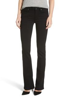 Paige Denim PAIGE Transcend - Manhattan Bootcut Jeans (Black Shadow)