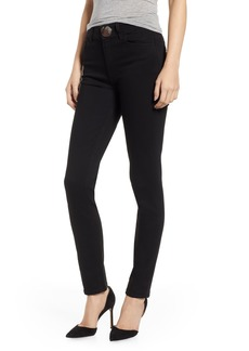 Paige Denim PAIGE Transcend - Margot Snap High Waist Ankle Peg Jeans (Black Shadow)