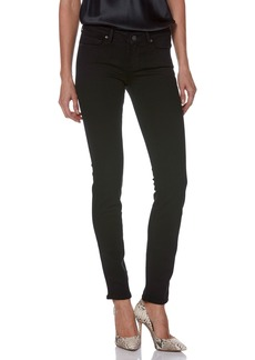 Paige Denim PAIGE Transcend - Skyline Skinny Jeans (Black Shadow)