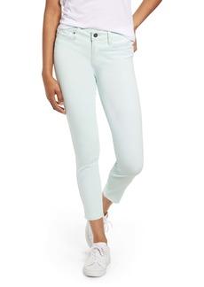 PAIGE Transcend - Verdugo Raw Hem Crop Skinny Jeans (Vintage Ocean Breeze)
