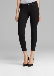 Paige Denim PAIGE Transcend Verdugo Crop Jeans in Black Overdye