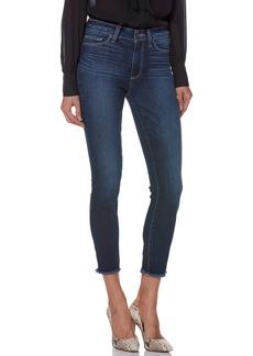 Paige Denim PAIGE Transcend Vintage - Hoxton High Waist Frayed Crop Skinny Jeans (Tarin)