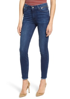 PAIGE Transcend Vintage - Hoxton Zip Pocket High Waist Ankle Skinny Jeans (Avalie)