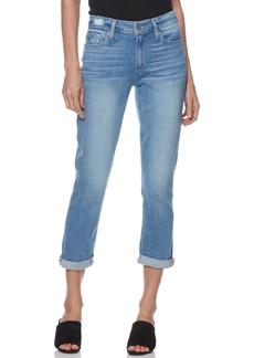 Paige Denim PAIGE Transcend Vintage - Jimmy Jimmy High Waist Crop Boyfriend Jeans (Atterbury)