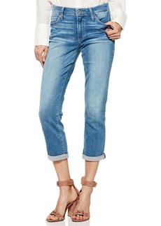 Paige Denim PAIGE Transcend Vintage - Jimmy Jimmy High Waist Crop Boyfriend Jeans (Venice)