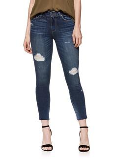 Paige Denim PAIGE Transcend Vintage - Verdugo Ankle Skinny Jeans (Cliffs Edge Destructed)