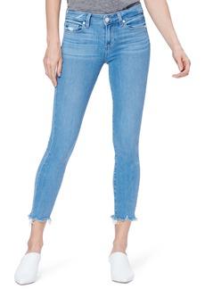 PAIGE Transcend Vintage - Verdugo Raw Hem Crop Skinny Jeans (Cabo)