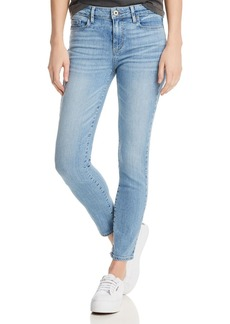 PAIGE Verdugo Ankle Skinny Jeans in Floretta