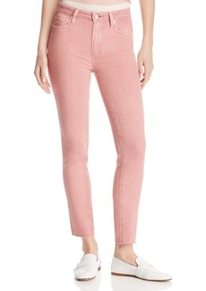 PAIGE Verdugo Ankle Skinny Jeans in Vintage Ash Rose