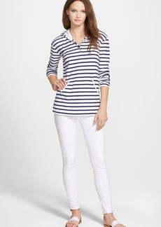 PAIGE Verdugo Crop Skinny Jeans (Ultra White)