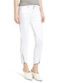 Paige Denim PAIGE Verdugo Crop Ultra Skinny Jeans (Crisp White)