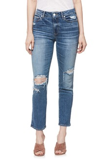 Paige Denim PAIGE Verdugo Transcend Vintage Ripped Ankle Skinny Jeans (Embarcadero Destructed)