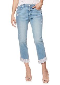 Paige Denim PAIGE Vintage - Sarah High Waist Ankle Straight Leg Jeans (Belfast)