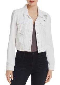Paige Denim PAIGE Vivienne Denim Jacket in Ultra White Destructed