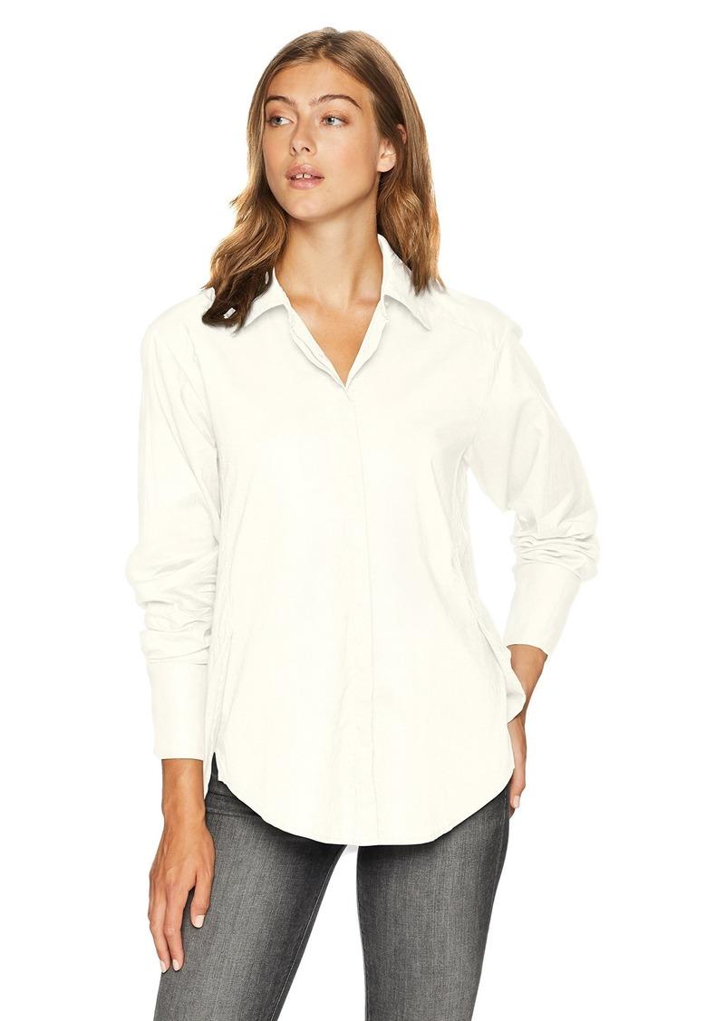 PAIGE Women's Clemence Shirt w/French Cuff  S