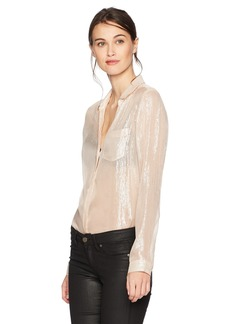 Paige Denim PAIGE Women's Everleigh Shirt  XL