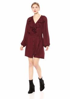 Paige Denim PAIGE Women's Isabelle Dress Rumba red/Black XS