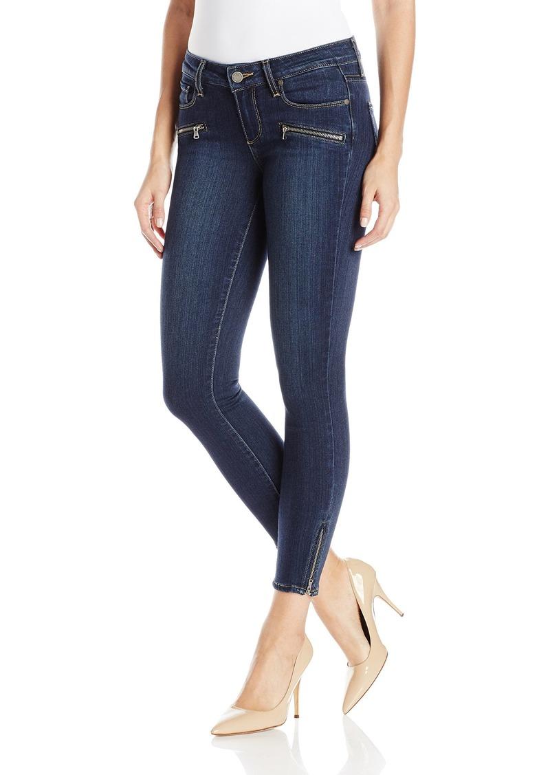 PAIGE Women's Jane Zip Crop Jeans-