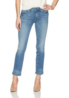 Paige Denim PAIGE Women's Jocelyn Mid Rise Modern Cropped Flare Jean