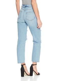 PAIGE Women's Noella Straight Leg Jean