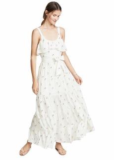 PAIGE Women's Tevin Maxi Dress  M