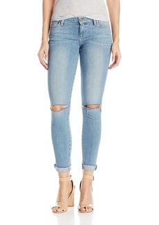 PAIGE Women's Verdugo Ankle Jeans W/Raw Hem Cuff-