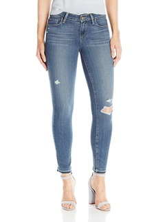 PAIGE Women's Verdugo Ankle W/ Folded Undone Hem Jeans
