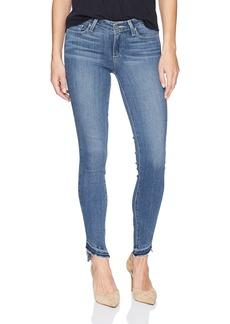 PAIGE Women's Verdugo Ankle W/Slanted Undone Hem Jeans