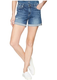Paige Denim Parker Shorts in Cliff's Edge Destructed