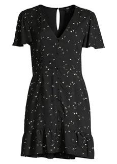 Paige Rosetta Button-Front Dress