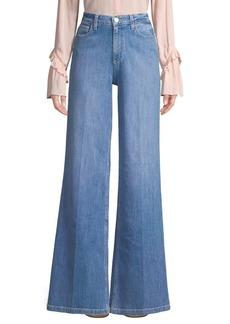 Paige Denim Sutton Wide Leg Jeans