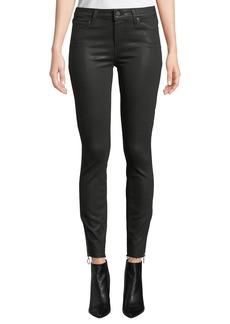 Paige Denim Verdugo Coated Ankle Skinny Jeans